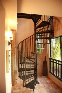 Stairway to Upper Floor from the House Main Entrance