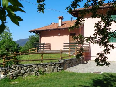 Country Cottage / Gite - Orta San Giulio:House surrounded  by nature.