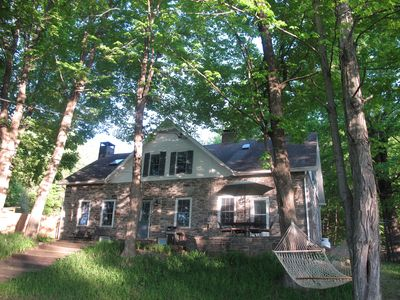 1796 Stone Farmhouse on 15 Acres Boarding Mohonk Nature Preserve