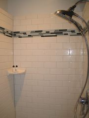 Ocean Springs cottage photo - Separate shower stall in NOLA cottage.