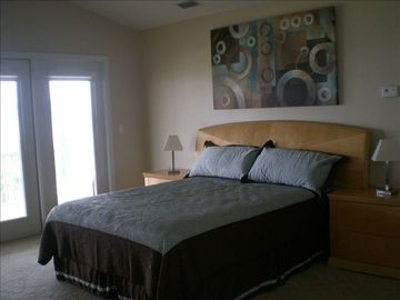 Master bedroom on 3rd floor