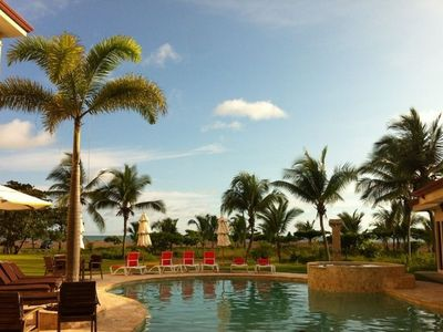 Jaco condo rental - Perfect clear skies for a relaxing afternoon