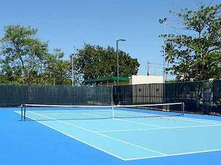 San Juan house photo - Barbosa Park, 1 block from Villa Verde, has tennis courts open to the public.