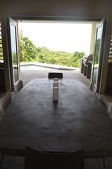 Vieques Island villa photo - from dining room outwards
