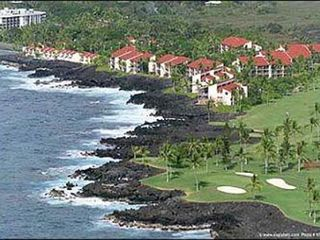 Keauhou condo photo - Arial photo of Surf and Racquet Club and Kona Country Club Golf Course