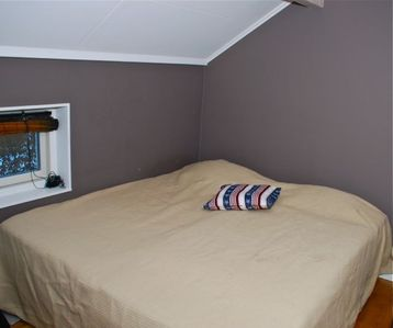 Stockholm Archipelago villa rental - Bedroom with double bed