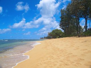 Kapaa condo photo - Islander beach out front. Only used by guests of our complex.