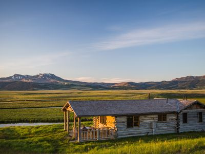 3 Remote Cabins on Montana's Red Rock River
