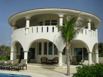 Ocean Side of Villa...Total Privacy & Incredible Ocean Views