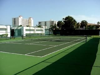 Cocoa Beach condo photo - Private Night Lit Tennis Court