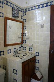 The 2nd Bathroom done in all talavera tiles