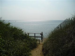 Eastham house photo - Deeded Path to Bay Beach