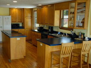 Huddleston estate photo - The Main House kitchen is large and well equiped for serving large gatherings