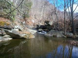 Boone cabin photo - A few deep swimming holes up the private trail