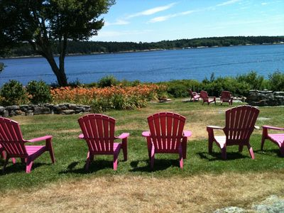 Westport Island cottage rental - Cottage Lillies in late July