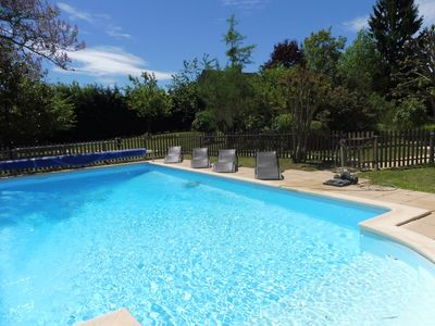 Comfortable cottage with heated pool - Gite