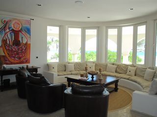 Tankah villa photo - Great Living Area with Amazing Ocean Views
