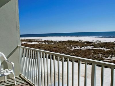 Orange Beach condo rental - view from balcony looking east