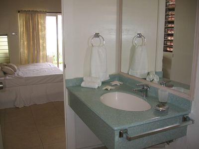 One of the apartment's bathroom