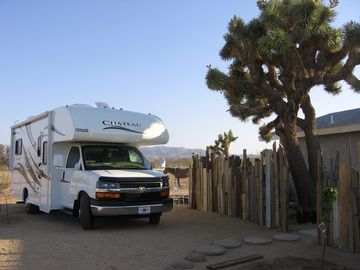 Joshua Tree recreational vehicle rental - Stay here or take it to the Park.