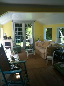Water Mill cottage rental - The Garden Room.