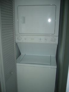 Washer and dryer in the unit for your comfort!