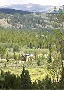 Alma cabin rental - True Rocky Mountain Seclusion--view from Penn Mountain