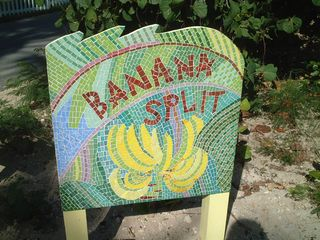 Elbow Cay and Hope Town house photo - Mosaic sign by London Artist Suzie Balaz