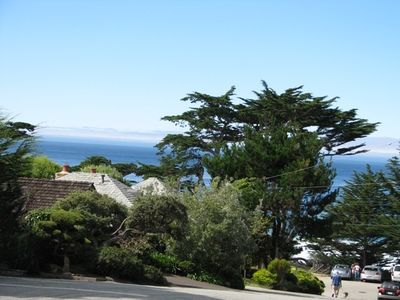 Carmel cottage rental - View from 8th Avenue