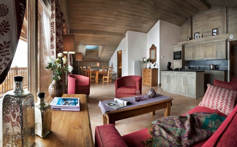 Holiday apartment, 100 square meters , Les Boisses, France