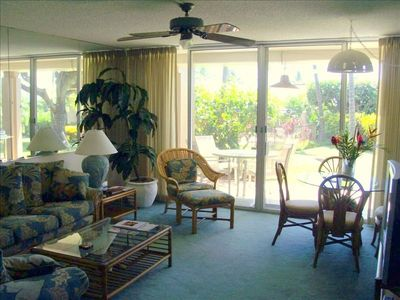 Traditional Hawaiian Style Living Room View