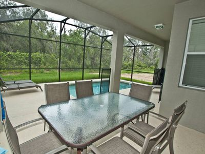 Paradise Palms house rental - PRIVATE POOL PATIO