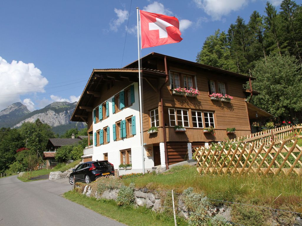 Holiday apartment, 80 square meters , Zweilütschinen, Switzerland