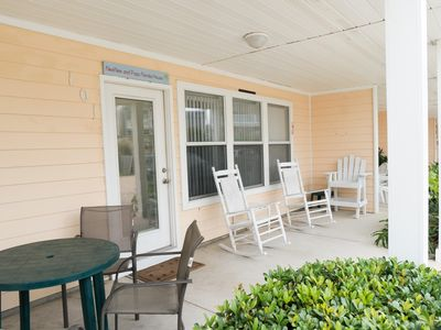 Two Bedroom Family-friendly Condo Steps from the Beach