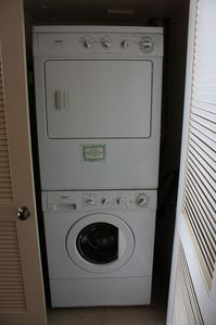 washer & dryer in condo