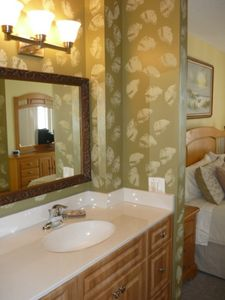 Tradewinds condo rental - Updated master bath to master bedroom
