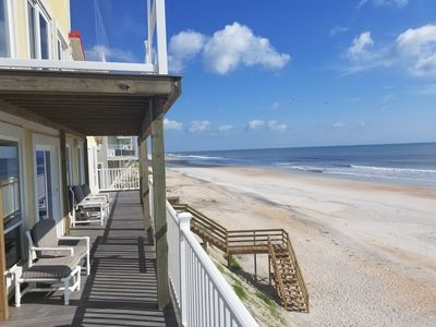 Breathtaking Beach Front Home Minutes From Historic St Augustine & Restaurants