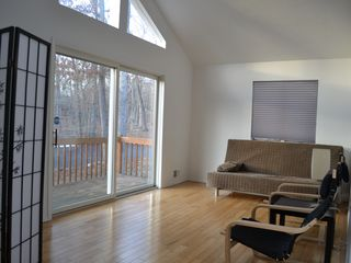 Bushkill house photo - The loft with a queen size futon