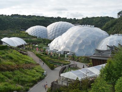Padstow cabin rental - Eden Project