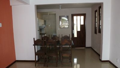 Apt 2Q + dep large room in great condominium on the beach Stella Mari