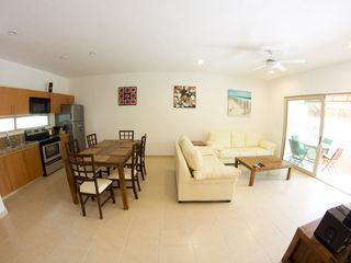 Tulum apartment photo - Kitchen and Living room
