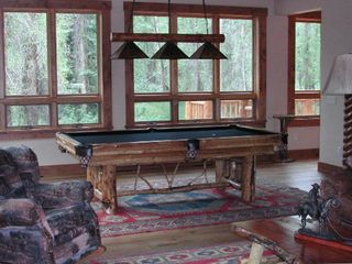 Great Room and Pool Table