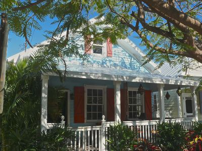 Our Key West Cottage - street view -