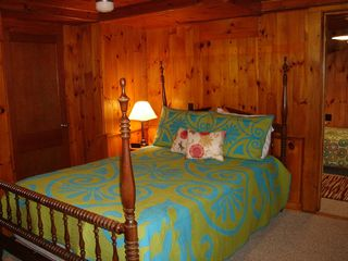 Sunapee cottage photo - Lower-level bedroom 2