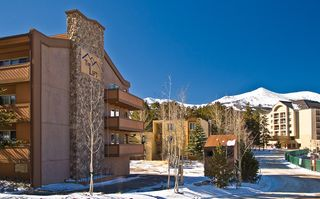 Breckenridge condo photo - Exterior - notice the close proximity to the Marriott - ski in/out -Rt of Photo