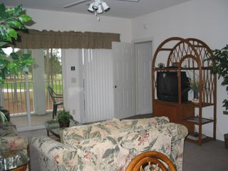 Sunset Beach condo photo - Villa and Screened porch