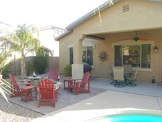 backyard/firepit - Queen Creek house vacation rental photo