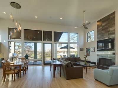 Austin house rental - Beautiful Entertaining Space - Great Room View