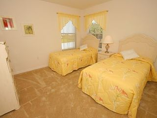 Haines City house photo - One of Two Bedrooms, Single Beds, Shared Bathroom