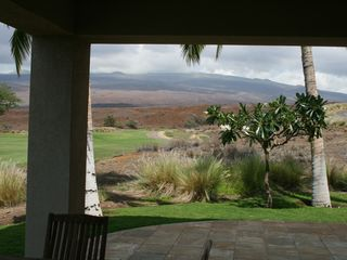 Mauna Lani condo photo - Mountain view from Lanai